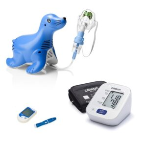 Blood Pressure Monitors, Nebulizers, Thermometers & Glucose Meters